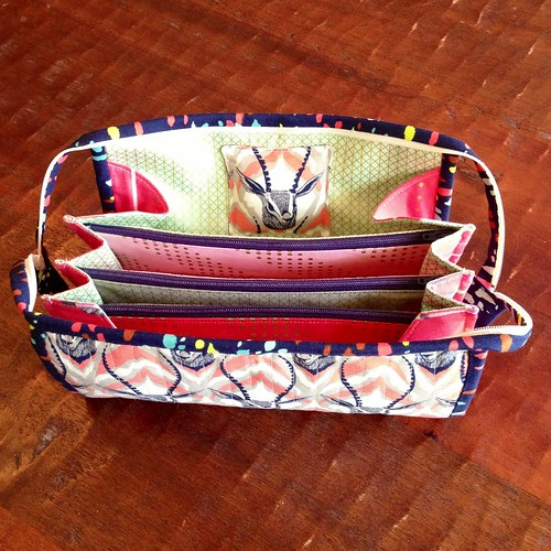Cotton + Steel Gazelle Sew Together Bag