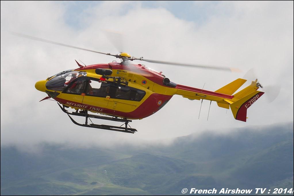 EC-145 Sécurité Civile , meribel airshow 2014