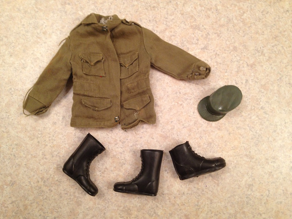 Hasbro GI JOE clothing boots jacket cap