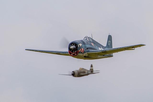 Hellcat and P-47
