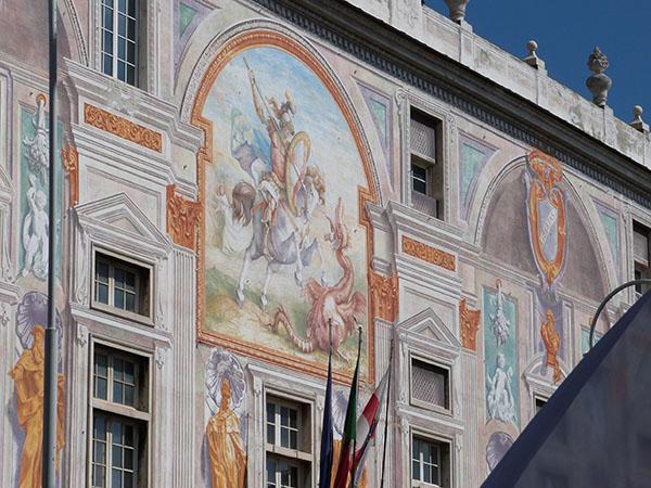 fresque palais port