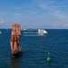 Festival Hanse Sail, à Rostock. Grand rassemblement de voiliers, 6 au 9 août 2014.