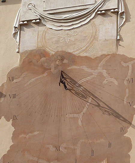 cadran solaire palais della meridiana