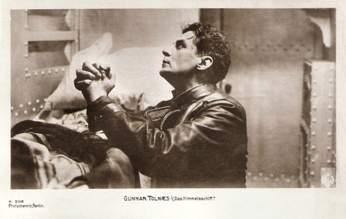 Gunnar Tolnaes in Himmelskibet