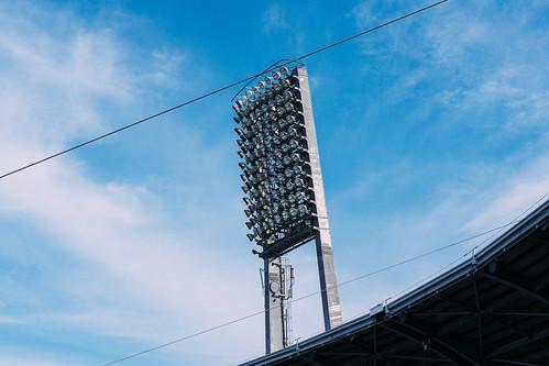 球場夜間照明燈