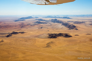 Aerial over Solitaire Namibia