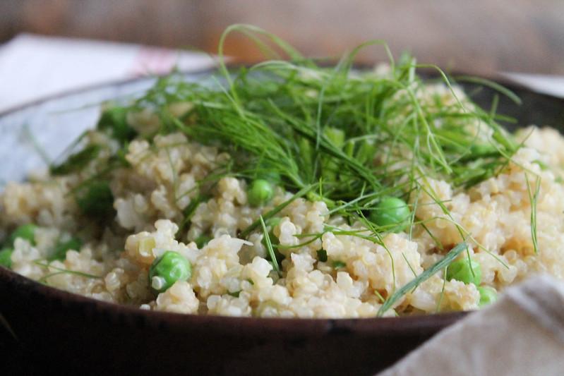 Recette de risotto de quinoa