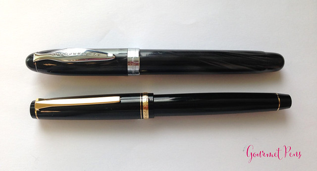 Review: Noodler's Ahab Crow Fountain Pen - Flex @AndersonPens
