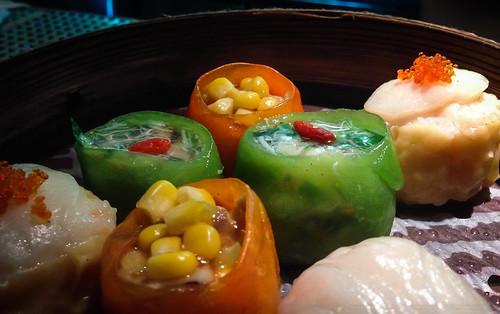 Dumplings at Hakkasan New York - NYC