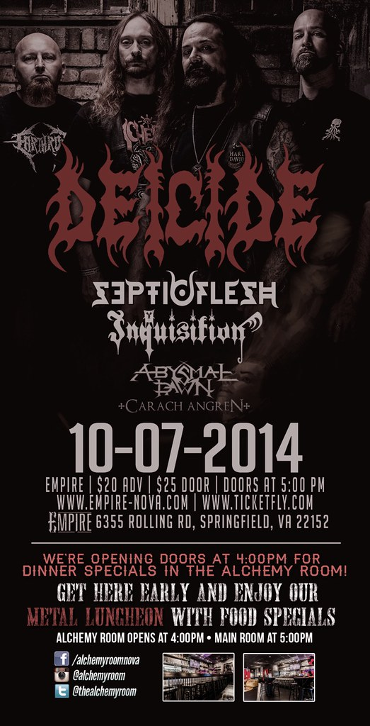 Deicide at Empire