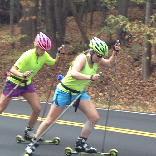 Dartmouth roller skiing