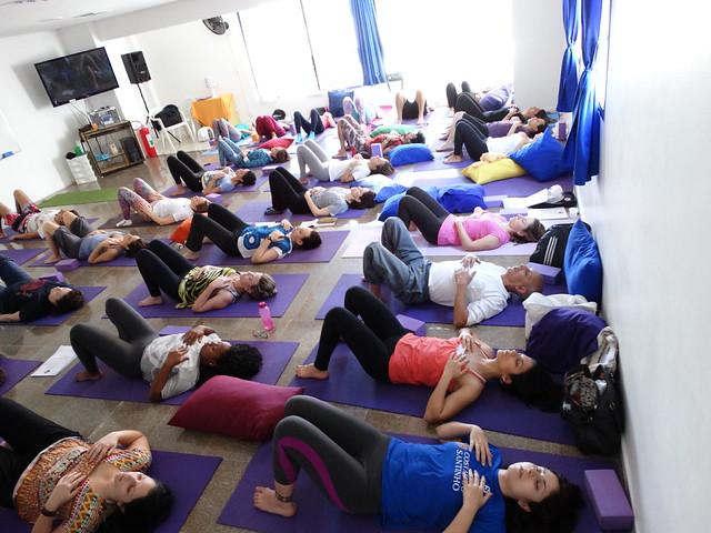Novas turmas yoga 2014 - Amor e persistência