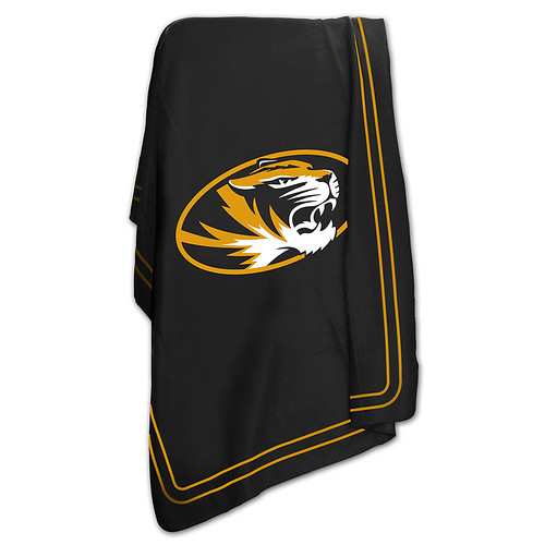 Missouri Tigers NCAA Classic Fleece Throw