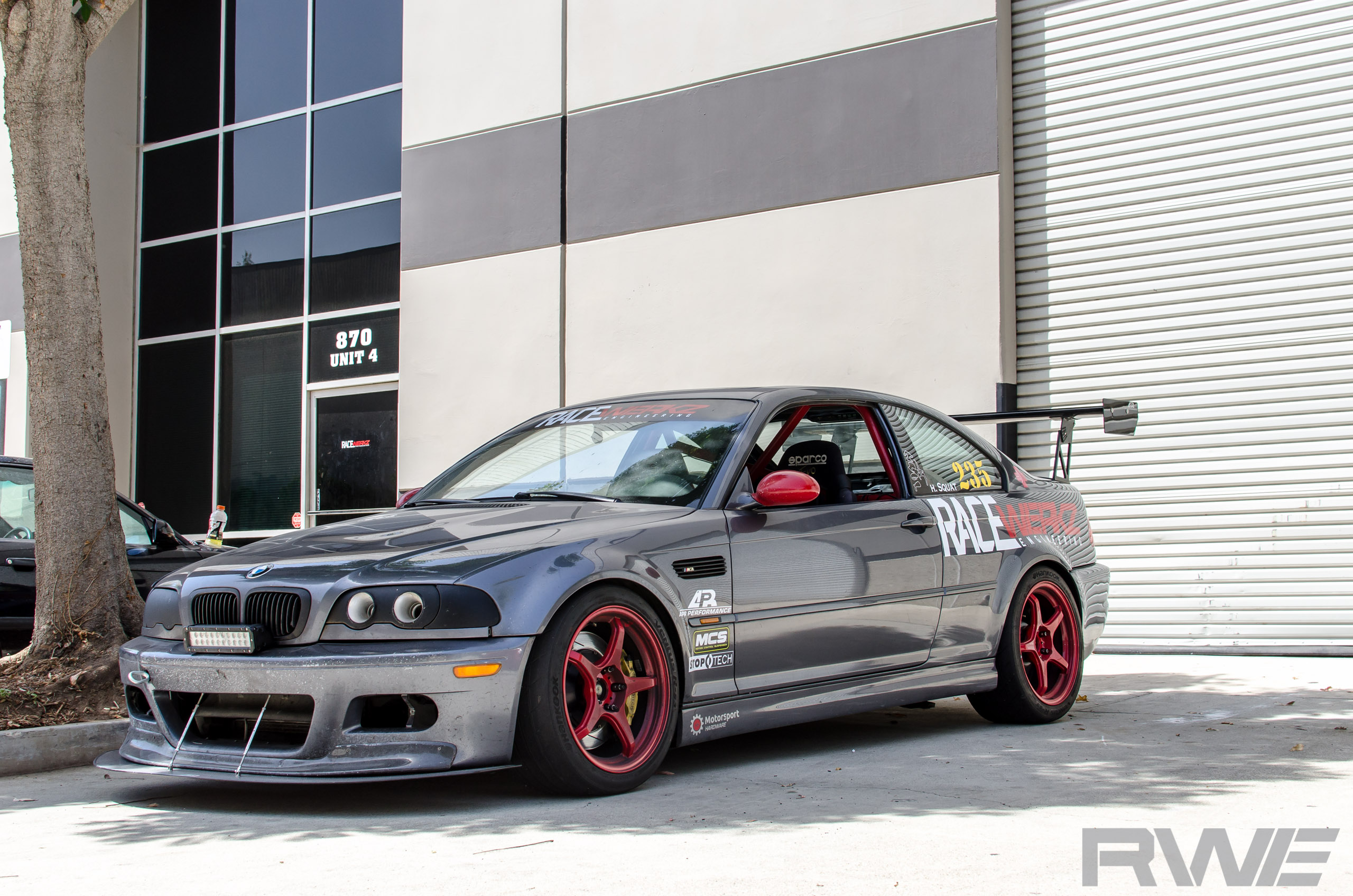 Rwe Silver Gray E46 M3 Track Build