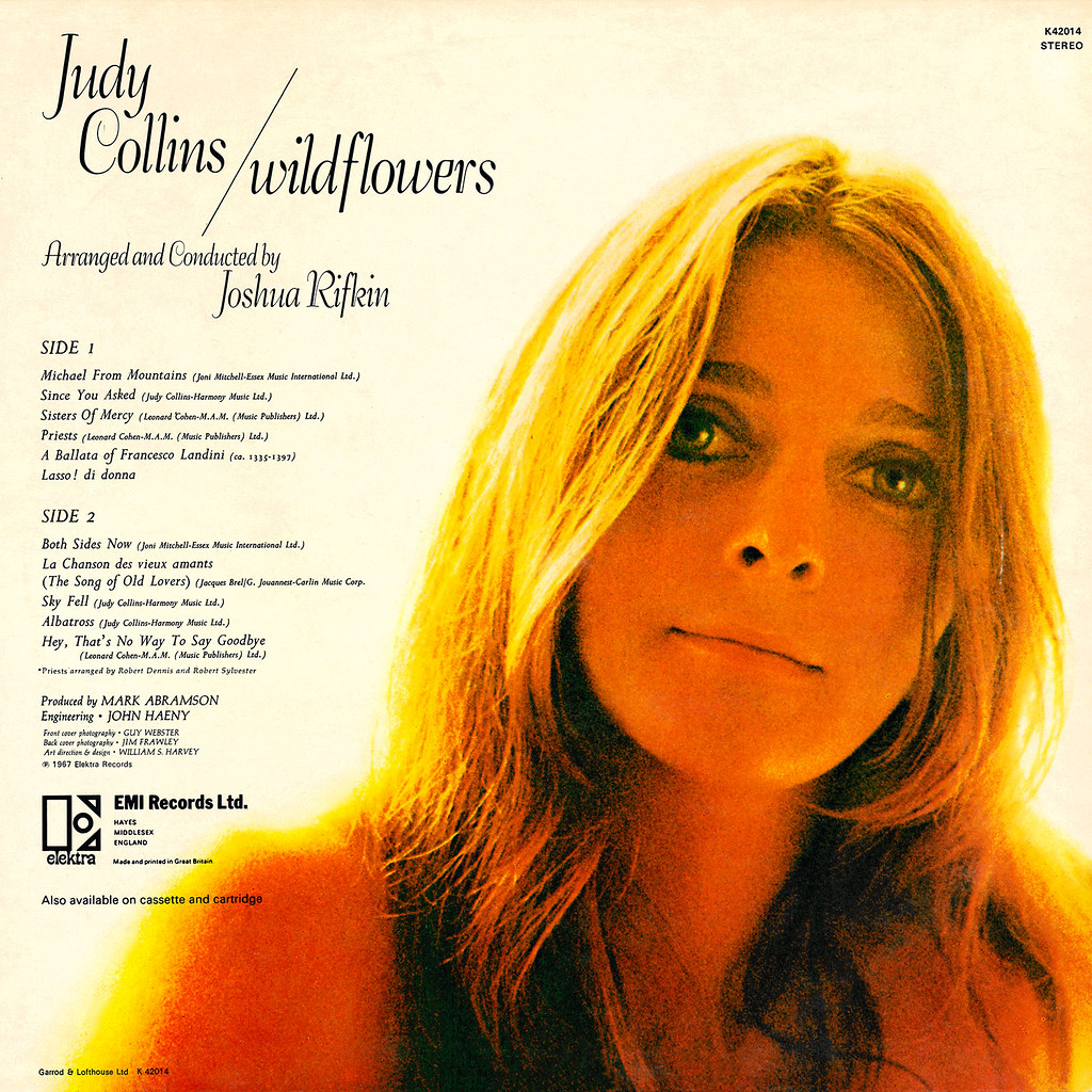 Collins album covers judy