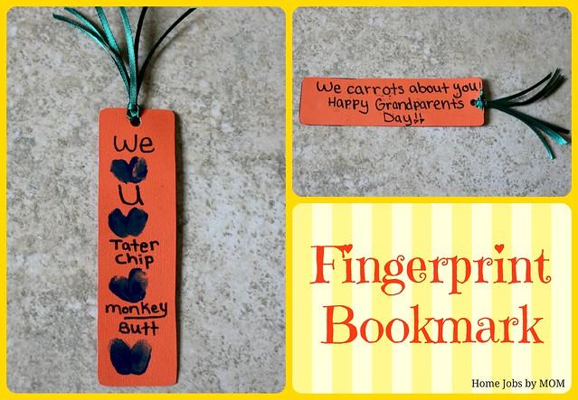 fingerprint bookmark