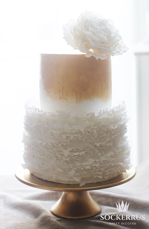 Frill cake sockerrus