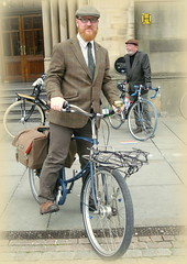 Manchester Tweed Ride - The Riders.
