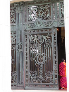 Marble House gate