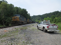 CSX Coal River Subdivision - 8/21/2014