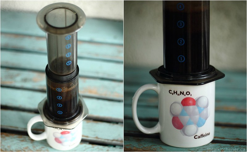 aeropress with parachute coffee