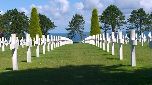 American War Cemetery - Colleville Sur Mer. by despod