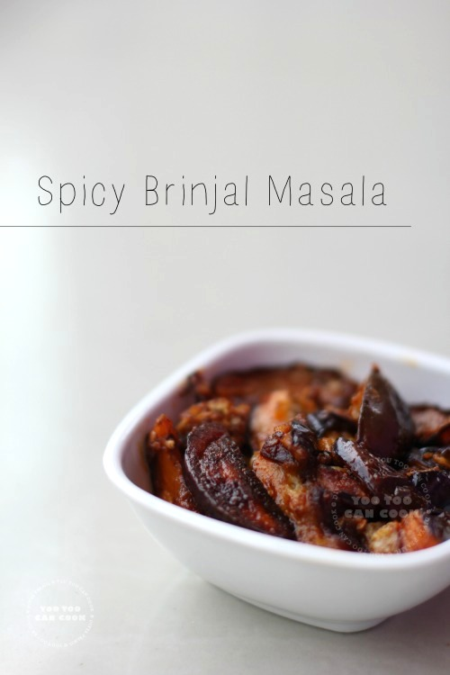 spicy brinjal fry