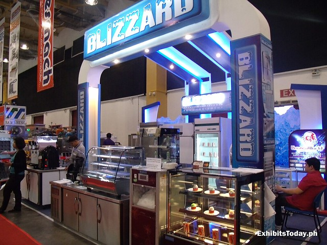 Blizzard Exhibit Booth