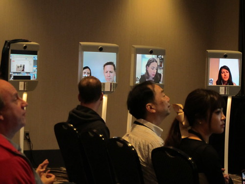 Telepresence attendees