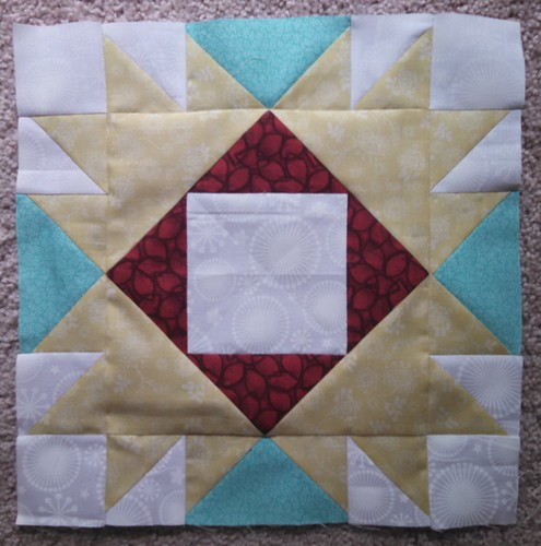 Sew pieceful Angel block for Myra