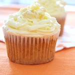 Tropical Cupcake with Ginger Buttercream