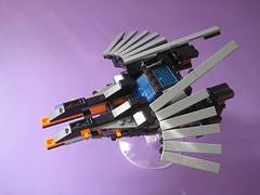 Small Starfighter – Flight mode