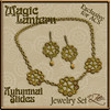 AZE Magic Lantern Autumnal Slides for ACS Jewelry Set