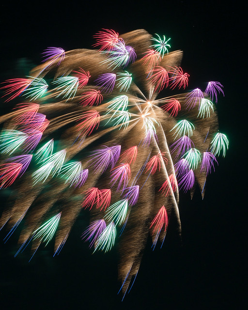 firework with extensions