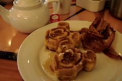 Mickey Mouse Waffles & Tea