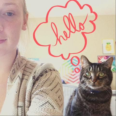 Kit Says Hello!