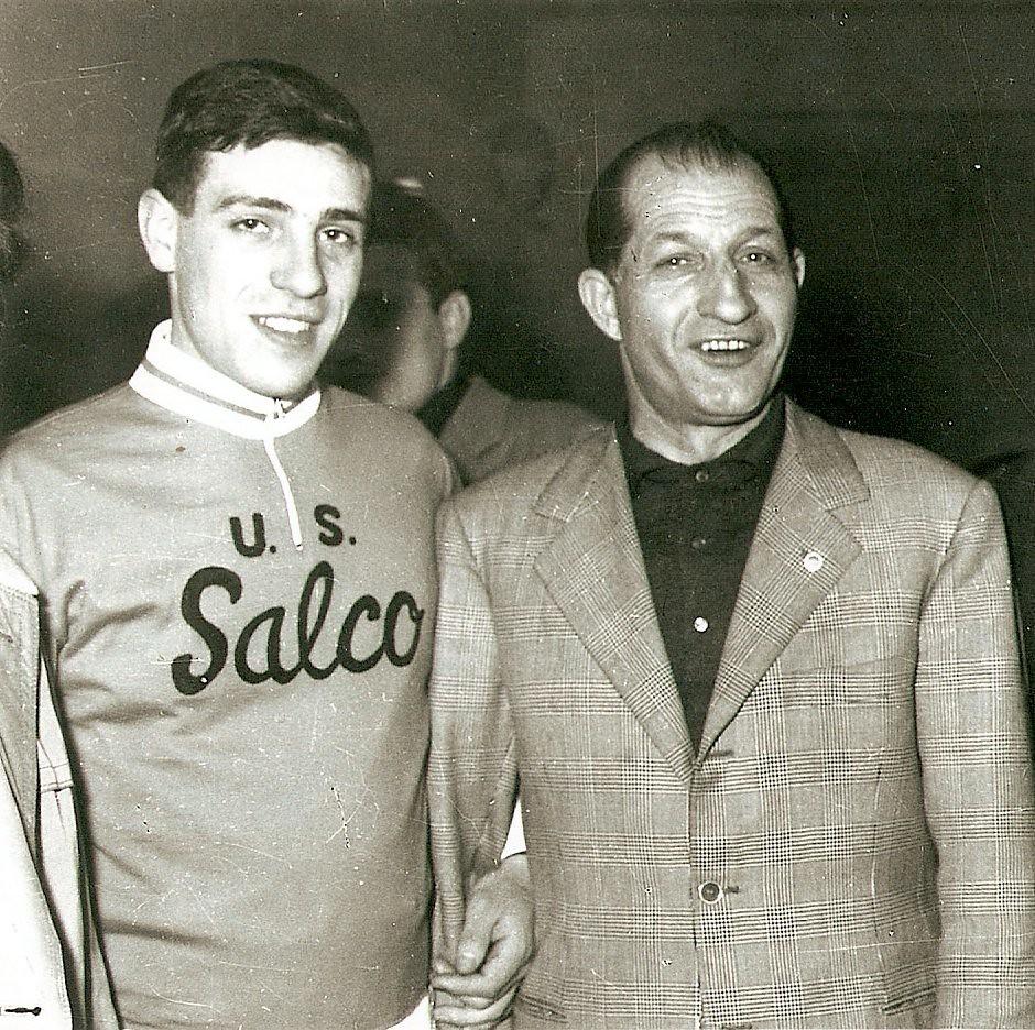 Paolo Signorini con Gino Bartali