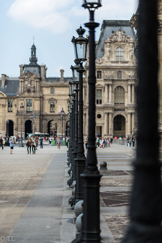 Lantern at Louvre