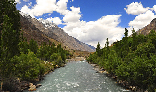 River Chitral near Booni