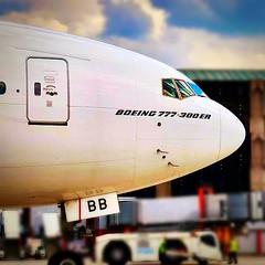 Boeing 777-300ER  #aviation #AviationNation #aircraft #airport #airline #boeing #boeinglovers #b777