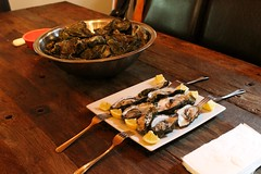 Drake's oysters