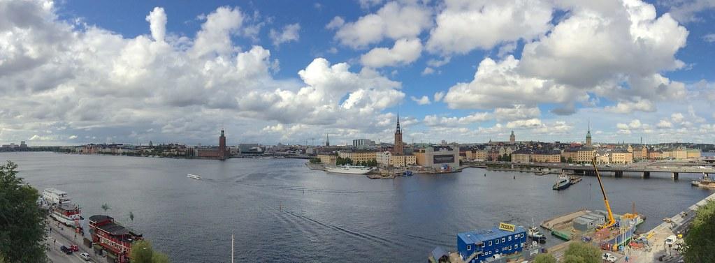 Across the Riddarfjärden