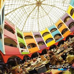 Pasar Siti Khadijah from Lower Ground Floor...  #GoPro2231 #gopro #gopromalaysia #goprokelantan #gopromalaysia_official #kelantan