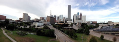 (Aug 30th, 2014) A view Houston Downtown