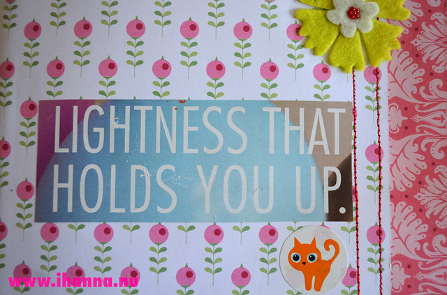 Art Journal Detail: Lightness that holds you up
