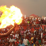 Amani Festival 2014 - Cracheur de feu - Sanaa Week-End