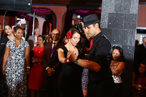 Guests enjoyed a professional performance by the Fred Astaire Dance Studio dancers, the event's presenting sponsor