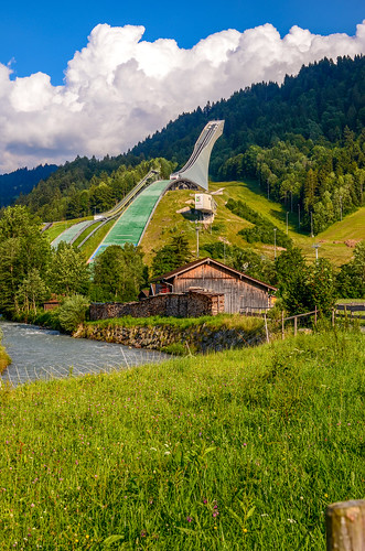 Olympic Ski Jump, Garmisch-Partenkirchen, Germany
