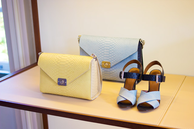 Mulberry SS15 at London Fashion Week