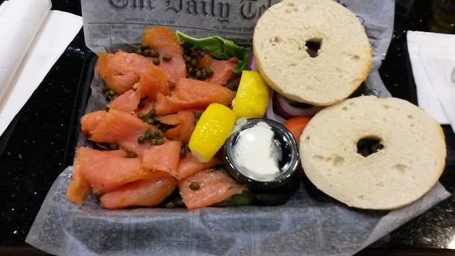 They aren't stingy with the lox.